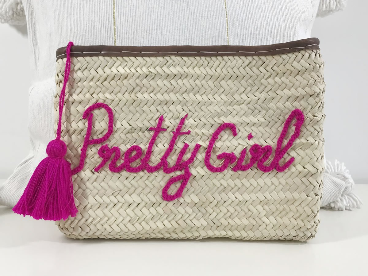 Pochette tressée Pretty Girl