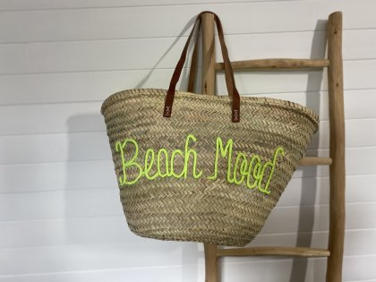 "Panier en osier ""Beach Mood"""
