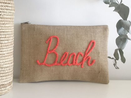 Pochette à message Beach orange GM